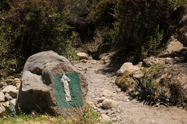 cabanaconde trail directions