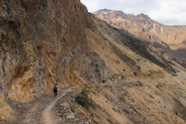hiking south america